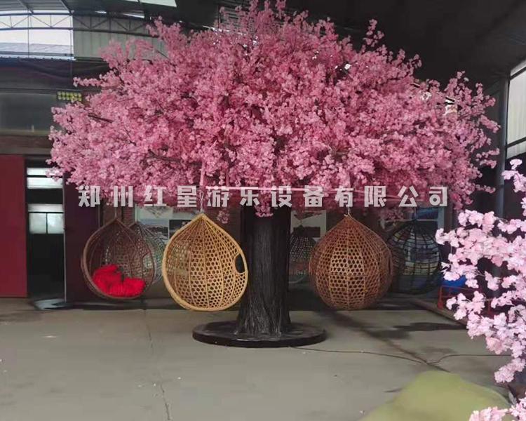 網紅樹(shu) 網紅許願(yuan)樹(shu) 吊籃樹(shu)